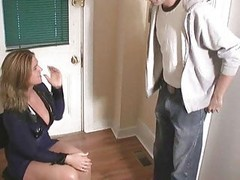 Masturbation, Jerking, Uniform, Bigtit in uniform