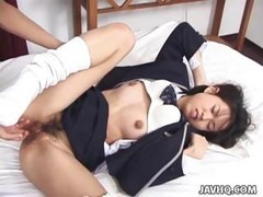 Asian, Japanese, Ass, Asian busty shcoolgirl in uniformed fuck