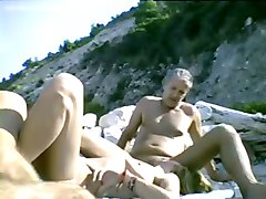 Dogging, Beach, Beach couple