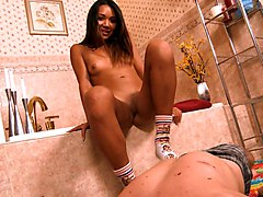 Footjob, Socks, Gangbang sock