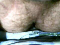 Hairy, Orgasm, Ass, Blonde orgasm contractions