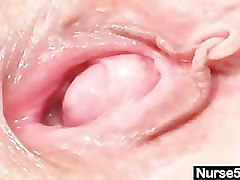 Hairy, Close Up, Redhead, Close up painful anal