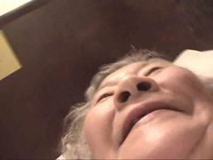 Asian, Granny, Japanese, Japanese wife fuck husband father