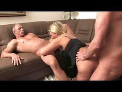 German, Threesome, Mature, Threesome footjob