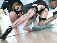 Footjob, Nylon, German nylon fee