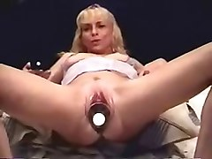 Dildo, Insertion, Monster anal insertion