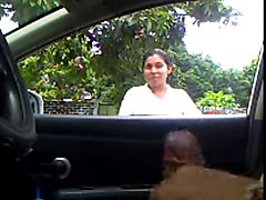 Flashing, Car flash dick to woman watches till i cum