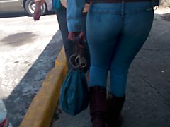 Jeans, Asses tight jeans shorts butts
