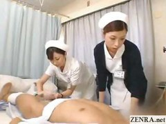 Asian, Handjob, Japanese, Nurse handjob