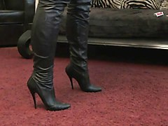 Leather, German, Leather femdom