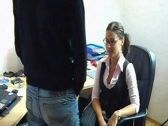 Amateur, Office, German, Gina wild in office