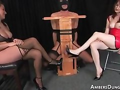Bdsm, Domination, Kissing, Lesbian dominated