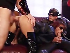 Slave, Fisting, Young mistress fists mature slaves pussy