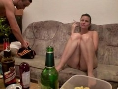 Group, Teen, Party, Group sex redhead