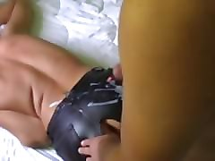 Panties, Leather, Ass, Leather woman