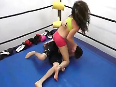 Mixed wrestling 3d