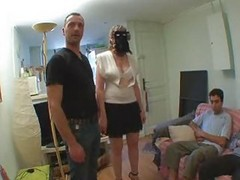 French, Gangbang, Mature, Sophie french mature gangbang