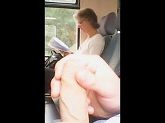 Masturbation, Train, Sex on a train with an in