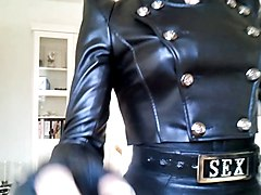 Leather, Leather corset