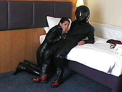 Black, Leather, Big titts leather