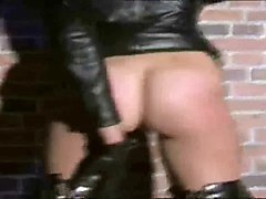 Leather, Leather ladyboy