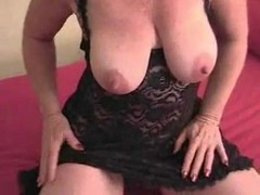 Clit, Bbw, Fat, Masturbation with huge clit self tape