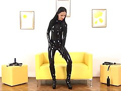 Black, Latex, Strapon latex