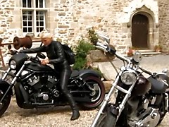 Leather, Long leather coat