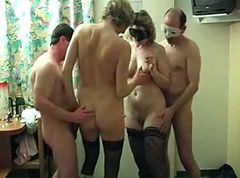 French, Threesome, Mature, Mature french slave