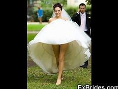 Upskirt, Bride, Wedding, Amateur sara upskirt
