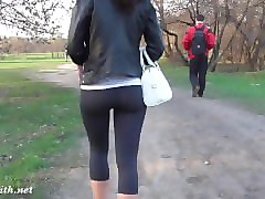 Rough, Fetish, Panties, Girl in yoga pants