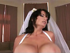 Bride, Big Tits, Banquet bride