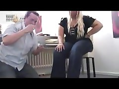 Slave, Steap daugther foot slave