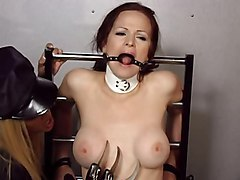 Bus, Mistress blowing my nose in face slave