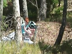 Wife, Strip, Redhead, Outdoors code t