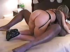 Amateur, Blonde, Interracial, Interracial creampie