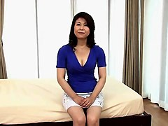 Old mature japanese mom