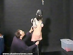 Fetish, Leather, Slave, Handjob leather boots