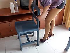 Housewife, Wife, Heels, Rich italian housewife blows