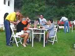 Group, Orgy, Outdoor