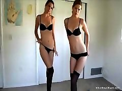 Twins, Strip, Camwithher twins