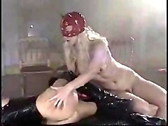 Rubber, Latex, Fisting, Shemales sex latex slave