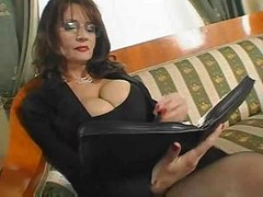 Bus, Secretary, Mature, Secretary dress