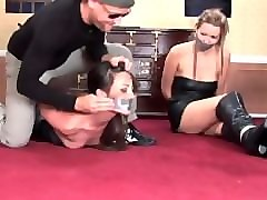 Bondage, Leather, Gagging, Pant leather