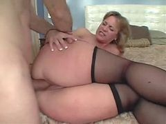 Anal, Mom, Ass, Mom and boy and sister