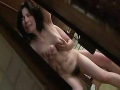 Asian, Japanese, Mature, Asian slut attacks guy