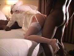 Bride, Cuckold, Wedding, Before wedding