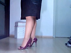 Heels, Nylon, Layered nylons