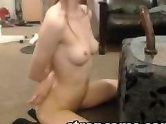 Blonde, Teen, Flexible, Skinny red head flexible webcam