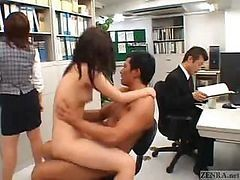 Asian, Japanese, Office, Japanese swap cum